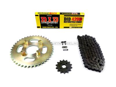 Kettenräder und Kettensatz, CY50 Standard +1