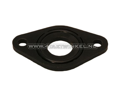Ansaugkrümmerdichtung / Isolator 16mm breiter Flansch inkl.O-Ring, original Honda