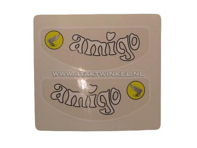 Aufkleber Amigo Rahmenrohr, Set
