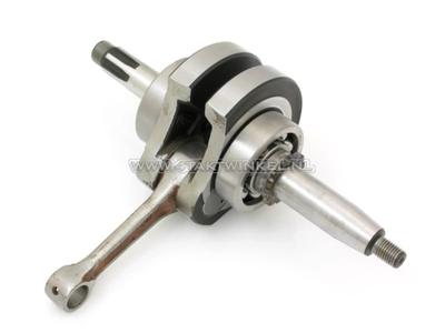 Kurbelwelle, 52 mm Hub, 12 Volt, 63 mm Zylinder, komplett, race
