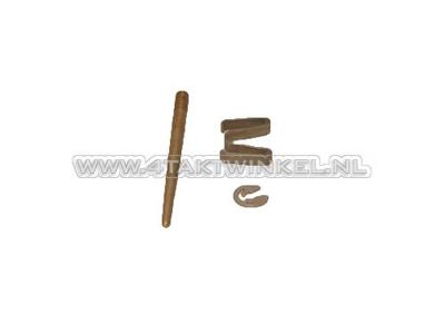 Vergasernadel-Set C50 Nachfertigung mit Clip und Sicherungsring