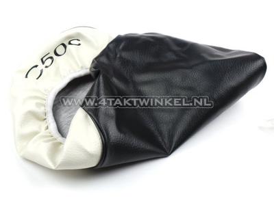 Sitzbankbezug C50 NT schwarz / weiß, C50-Kennzeichnung