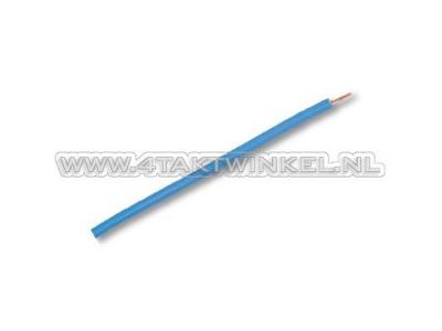 Litze pro Meter 0,75 mm², blaue hell