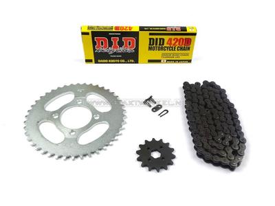 Kettenräder und Kettensatz, CD50 Standard +2