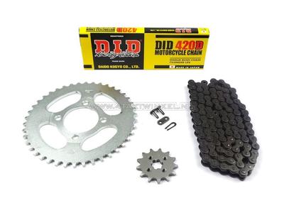 Kettenräder und Kettensatz, CD50 Standard +1