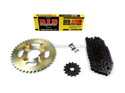 Kettenräder und Kettensatz, CB50j Standard +2