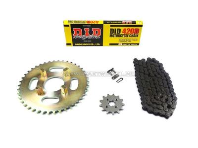 Kettenräder und Kettensatz, CB50j Standard +1