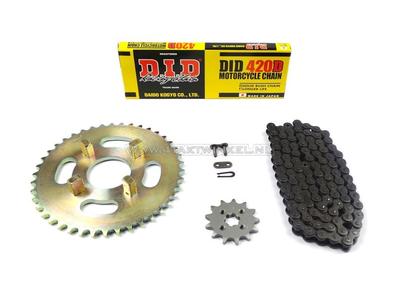 Kettenräder und Kettensatz, Dax Honda ST50, Standard