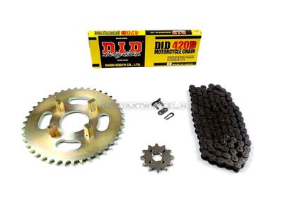 Kettenräder und Kettensatz, CB50j Standard