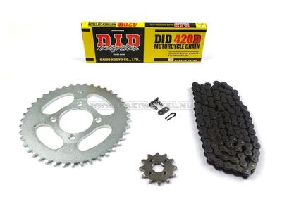 Kettenräder und Kettensatz, CD50 Standard