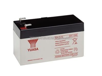 Batterie 12 Volt 1,2 Ampere Gel Yuasa