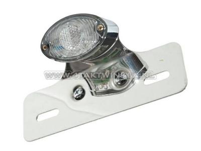 Rücklicht Cateye einzelne, kleine, Klarglas LED