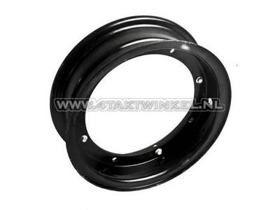 Felge Dax 10 Zoll Aluminium, Standardoptik, 3.00, Kepspeed, schwarz