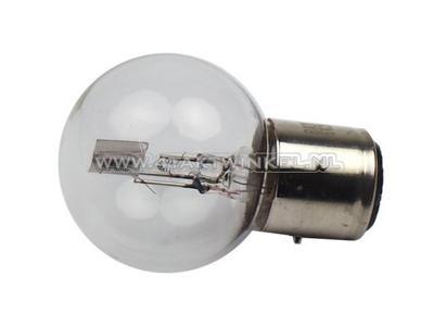 Scheinwerfer Lampe BA21D, Doppelt, 6 Volt, 15-15 Watt, Dax 3-polig