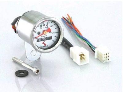 Tachometer Kitaco 48mm weiß, elektronisch