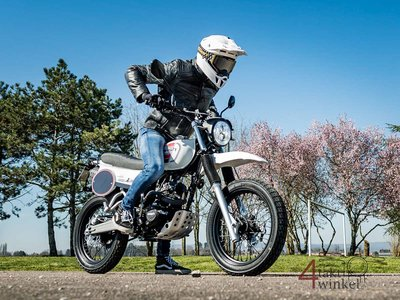 VERWACHT! Mash X-ride, 50cc, Euro 5, Weiss