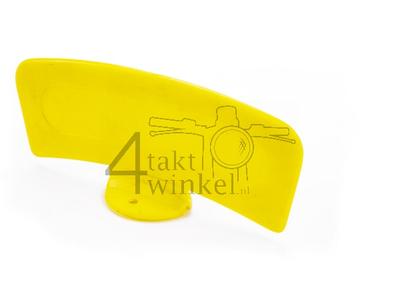 Kotflügelplatte Moped gelb, universell