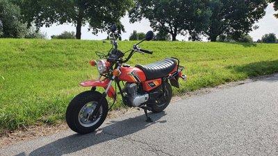 Honda CY50, benutzt  , 9037 km