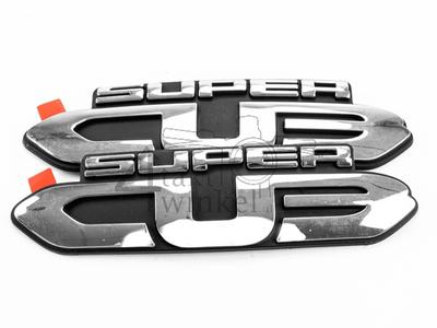 Aufkleber / Emblem C50 12v, Super Cub, Set, Seitenabdeckungen